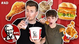 Download BROTHERS TRY EVERY FOOD ON THE KFC MENU Video