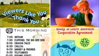 Download PBS Kids Program Break (2002 WFWA-TV) Video