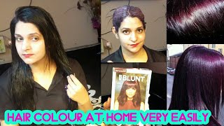 Download How To Color Your Hair At Home || Quick & Effortless || bblunt hair colour || Shine with bhavna Video