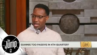 Download Tracy McGrady: Giannis Antetokounmpo doesn't have the mindset to take over a game | The Jump | ESPN Video
