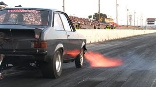 Download 13B turbo rotary Ford Escort MkII - FAST! Video