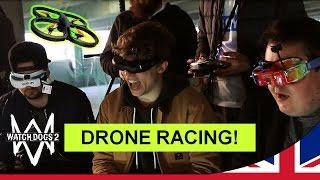 Download Watch Dogs 2 - DRONE RACING! w/ Ali-A, Daz Black & Slogoman [UK] Video