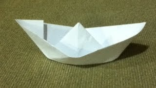 Download How to Make a Paper Boat - Origami - Simple Instructions & Easy Folds - Step by Step Instructions Video