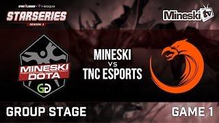 Download Starseries Season 3   Mineski vs TNC   Game 1 Video