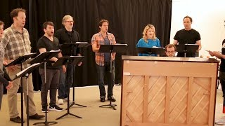 Download The Broadway Show: ASSASSINS in Rehearsal, Starring Steven Pasquale Video