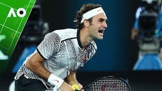 Download Roger Federer's 36 best points from the Australian Open Video