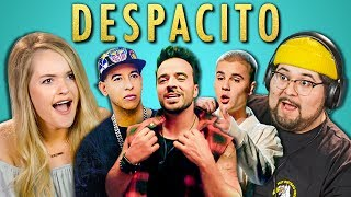 Download ADULTS REACT TO DESPACITO (Luis Fonsi, ft. Daddy Yankee, Justin Bieber) Video