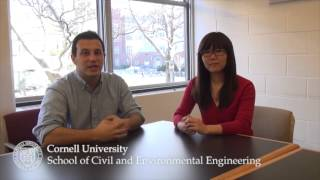 Download Environmental Engineering students discuss the major Video