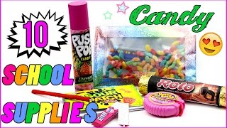 Download 10 DIY School Supplies! Easy - Weird DIY Crafts for Back To School! Candy DIYs - Mini Pens & more! Video