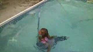 Download KG goes for a swim Video
