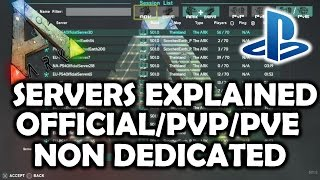 Download ARK Survival Evolved PS4 Servers Explained - Join Official/Non Dedicated/Single Player Video