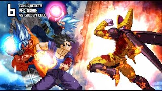 Download [What-If] Gohan, Goku and Vegeta VS Golden Cell. Video