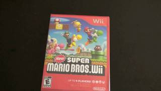 Download New Super Mario Bros Wii Unboxing Video