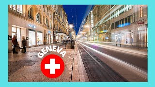 Download GENEVA, the SHOPPING AREA of the OLD CITY (SWITZERLAND) Video