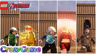 Download All #Speedsters Free Roam - #LEGO MARVEL's Avengers Video