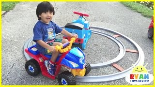 Download Playground for Kids Compilation Video! Children's Play Area at the Park with Ride on Cars Video