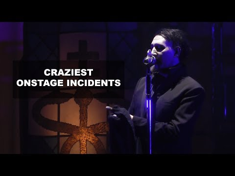 Marilyn Manson - Craziest Onstage Incidents | Rock Feed