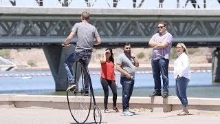 Download Giant Bike in the City Video