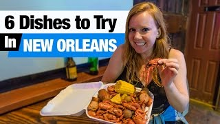 Download Cajun & Creole Food - 6 Dishes to Try in New Orleans! (Boudin, Beignets and more!) Video