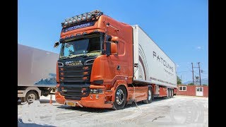 Download Scania R580 Patounas Transport Video