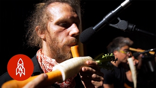Download The Vegetable Orchestra Literally Plays with Their Food Video