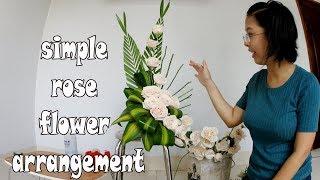 Download Cắm hoa bàn thờ tập 40 | LẲNG HOA HỒNG | ROSE Flowers Tutorial Video