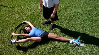 Download Dynamic Stretches with Stretch Strap Video