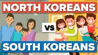 Download Average North Korean vs the Average South Korean - People Comparison Video