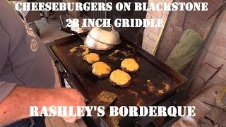 Download Cheeseburgers on Blackstone 28 in Griddle Video