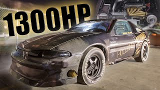 Download 1300+hp AWD DSM Takes on Outlaw Armageddon! Video