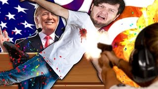 Download TAKING A BULLET FOR DONALD TRUMP! Video