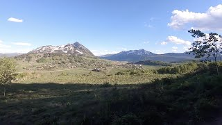 Download Snodgrass Trail in Crested Butte Colorado Video