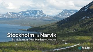 Download Stockholm to Narvik by Night Train Video
