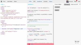 Download RxJS first steps: Subject and ReplaySubject Video