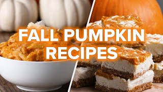 Download 5 Pumpkin Recipes To Make This Fall •Tasty Video