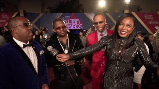 Download Bell Biv Devoe, Angie Stone & More On Soul Train Awards Red Carpet Video