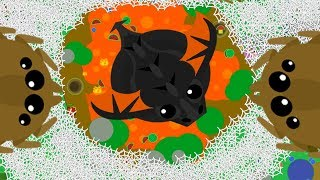 Download MASSIVE LAVA SPIDER WEB NEST ft La Flame // Eagle Spider Web Troll (Mope.io Funny Moments) Video