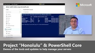 Download Updates to server management with Project ″Honolulu″ and PowerShell Core Video