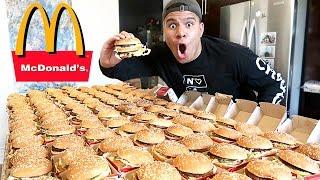 Download INSANE 100+ MCDONALD'S BIG MAC CHALLENGE (IMPOSSIBLE) *100,000 CALORIES* Video