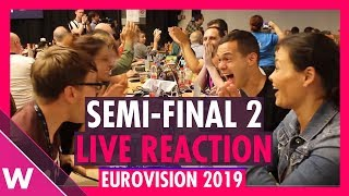 Download Eurovision 2019: Live reaction to Semi-Final 2 Qualifiers | wiwibloggs Video