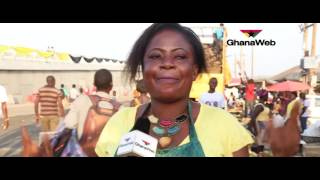 Download People's reactions to Mahama's commissioning of the Kasoa Interchange Video