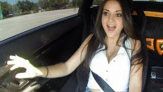Download Maria in 1000hp Twin Turbo Lamborghini Superleggera Video