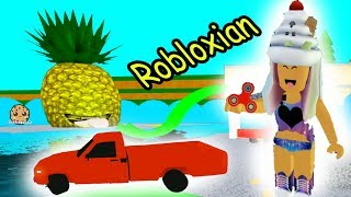 Download Car In Pool + Fidget Spinning Robloxian Life Cookie Swirl C Plays Roblox Games Online Video