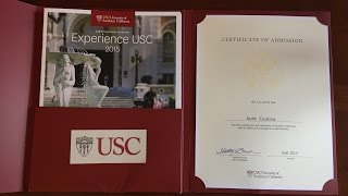 Download HOW I GOT INTO USC Video