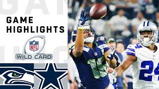 Download Seahawks vs. Cowboys Wild Card Round Highlights | NFL 2018 Playoffs Video