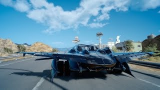 Download Flying Across Final Fantasy XV's Map Video