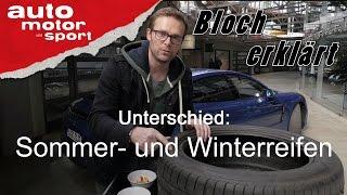 Download Sommer- und Winterreifen: Unterschied? - Bloch erklärt #6   auto motor und sport Video