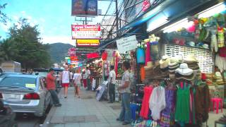 Download [PHUKET] Walking on Beach Rd/Thaweewong Rd @ Phuket,Thailand プーケット県 / パトンビーチ Video