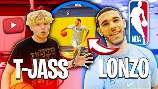 Download Lonzo Ball Tries To Do Crazy Layups! Video
