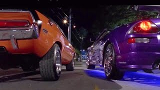 Download 2 FAST 2 FURIOUS - Pink Slip Race (Eclipse & Evo vs Camaro & Challenger) #1080HD Video